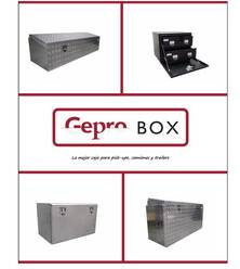 Cajas Gepro Box para pick-up, camiones y trailers