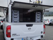 Equipamiento interior Pick Up Nissan Navara