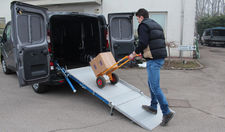 Renault Trafic con Rampa WM Light Plus